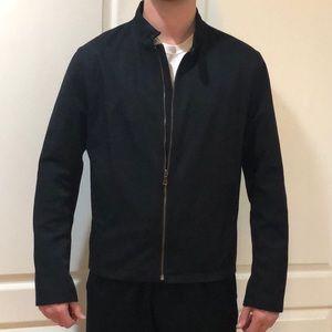 Banana Republic Black Bomber Jacket Size L